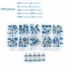 100pcs 10 Value Potentiometer Trimpot Variable Resistor Assortment Box Kit RM065 100 pcs