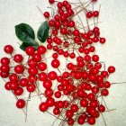 100pcs 10mm DIY Simulate Berry Tree Garlands