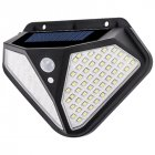 102 LED Solar Wall Lamp Human Body Induction Lamp On Both Sides Outdoor Courtyard Garden Villa Lamp 102LED