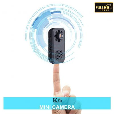 Black 1080P HD Mini Camera