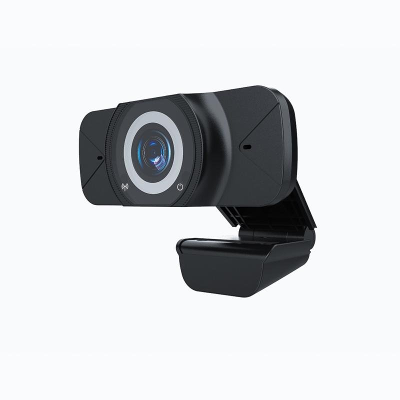 1080P HD Web Camera With Microphone USB Webcams Computer Camera For Video Calling black