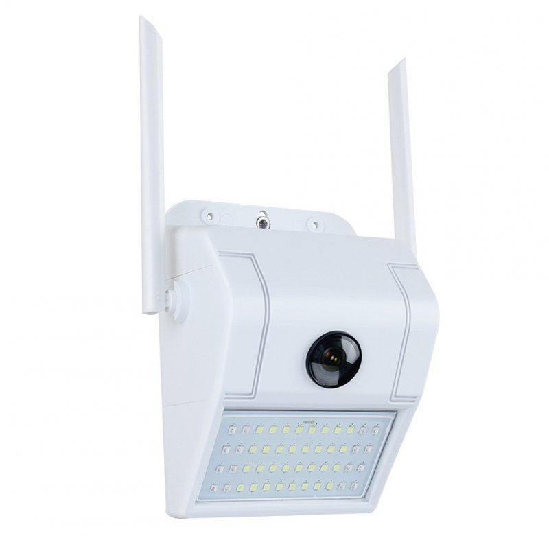 1080P Wide Angle Waterproof Wall Light Camera Outdoor WiFi IP Wall Camera Surveillance Garden Light Ultra-wide-angle + 3 million dual light source version standard-English version