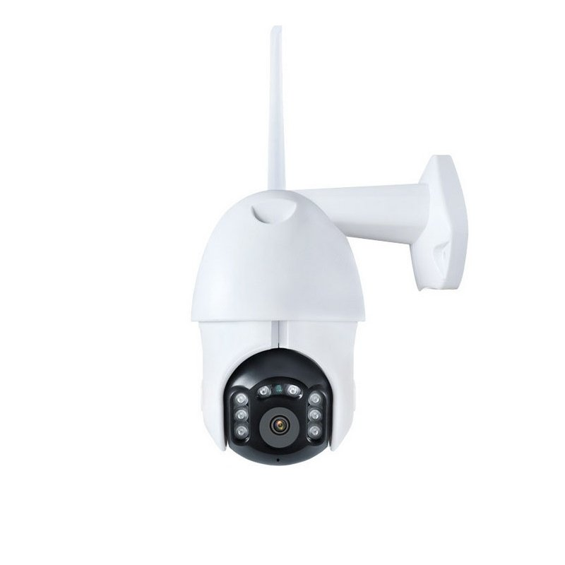 1080P Wifi IP Camera Outdoor Two Way Audio PTZ 5X Optical Zoom Night Vision Wireless Security Dome Camera