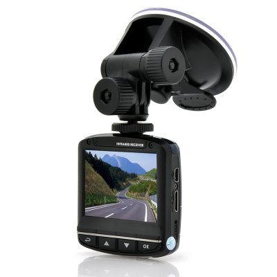 1080p HD Car Dashcam with Motion Detection
