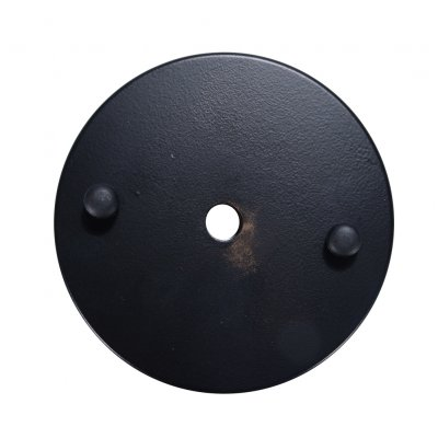 10CM Ceiling Base Plate Round Metal
