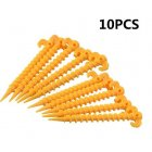 10Pcs 20cm Tent Hook Stakes Camping Tents Pegs Accessories Ground Support Nails 10pcs