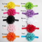 10Pcs/Pack Baby Girls Headbands Newborn Toddler Hollow Out Flower Headdress