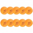 10Pcs Table Tennis Ball 40mm Three-star  Ping Pong Ball Professional Training Match Ball yellow