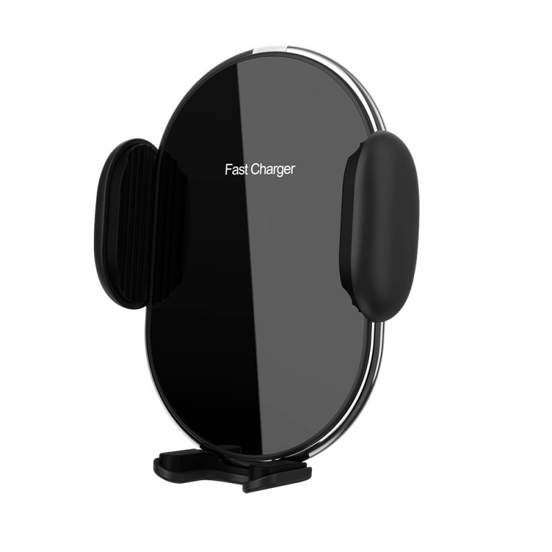 10W Wireless Charging Car Phone Holder black