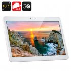 10.1 Inch 3G Tablet PC (White)
