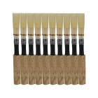 10pcs/set 7.2x0.7x0.7cm  Natural Reed Oboe Reeds Wind Instrument Part black