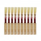 10pcs/set 7.2x0.7x0.7cm  Natural Reed Oboe Reeds Wind Instrument Part red