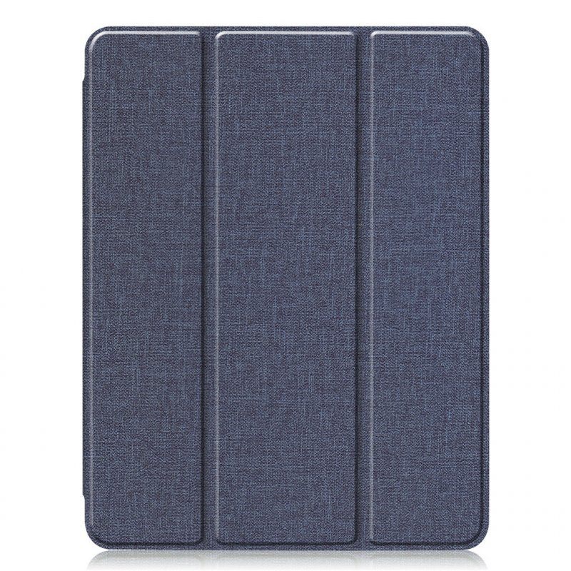11 inch Foldable TPU Protective Shell Tablet Cover Case Shatter-resistant with Pen Slot for iPadPro blue