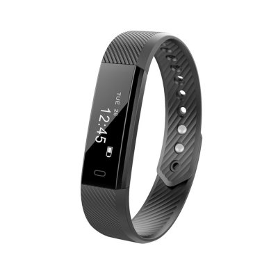115 Sports Smart Watch Black