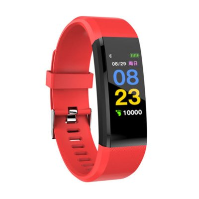 115plus Bluetooth Smart Watch - Red