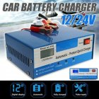 12/24v Automatic Quick Battery  Charger Intelligent Pulse Repair Truck Storage US Plug