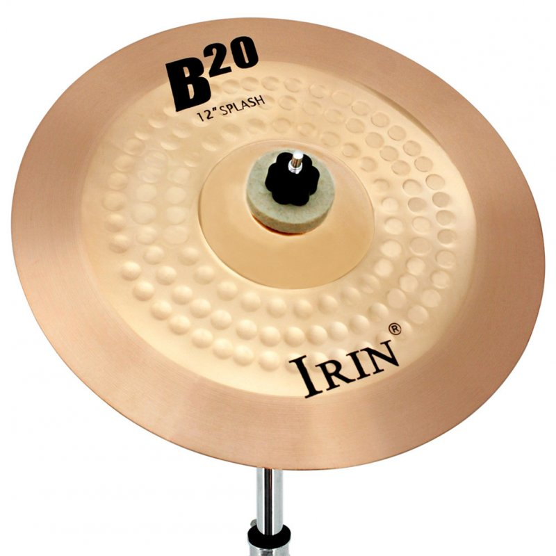 12  Inch  B20  Cymbal Professional Bronze Cymbal  for  Drum Set 29.5*29.5CM