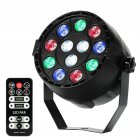 12 LED Multi Lighting Modes Remote Control