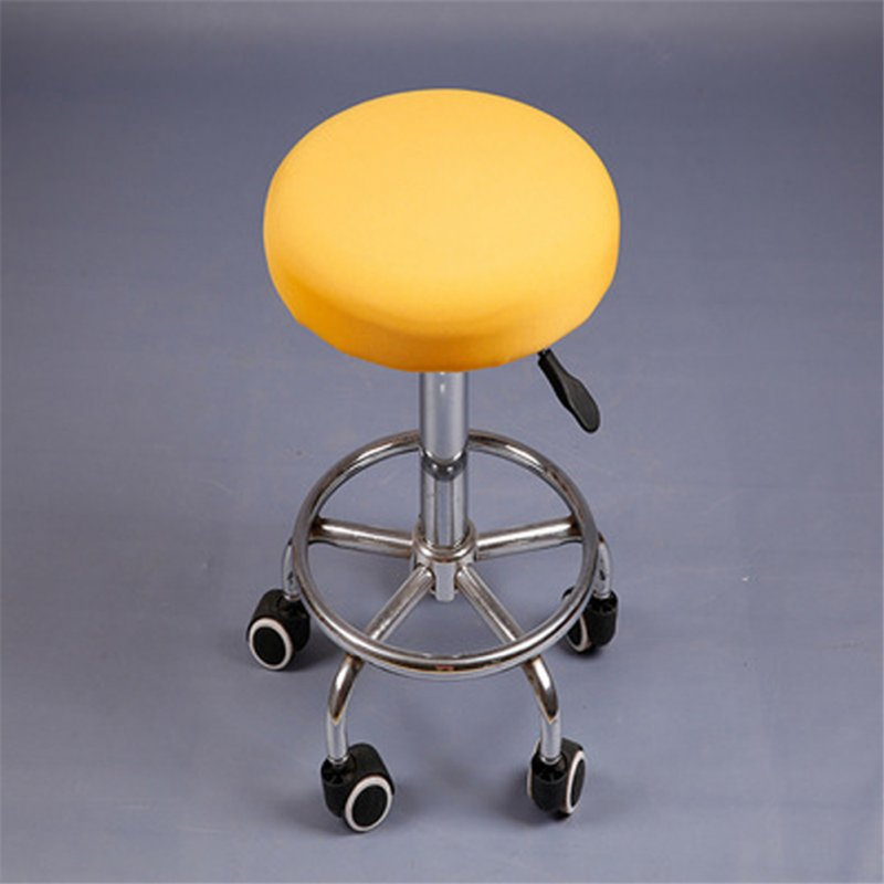 12'' Lift Stool Round Head Soft Chair Cover