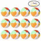 12 PCs Inflatable 6-Color Beach Balls