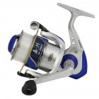 12 axis Engineering Plastic Fishing Reel One-key Left/Right Interchangeable Baitcast Reel Random Color_6000 series