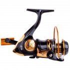 12-axis Fishing Reel Spinning Wheel Reel Metal Rocker Arm Anti-skid All Metal Wire Cup Fishing Equipment 2000 rpm
