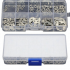 120Pcs 304 Stainless Steel E Clip Retaining Circlip Assortment Kit 1 5mm to 10mm Box Packing  120 sets