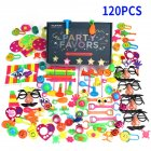 120Pcs Party Favors Toy Assortment for Birthday Pinata Fillers Carnival Prizes Classroom Rewards Christmas Gift