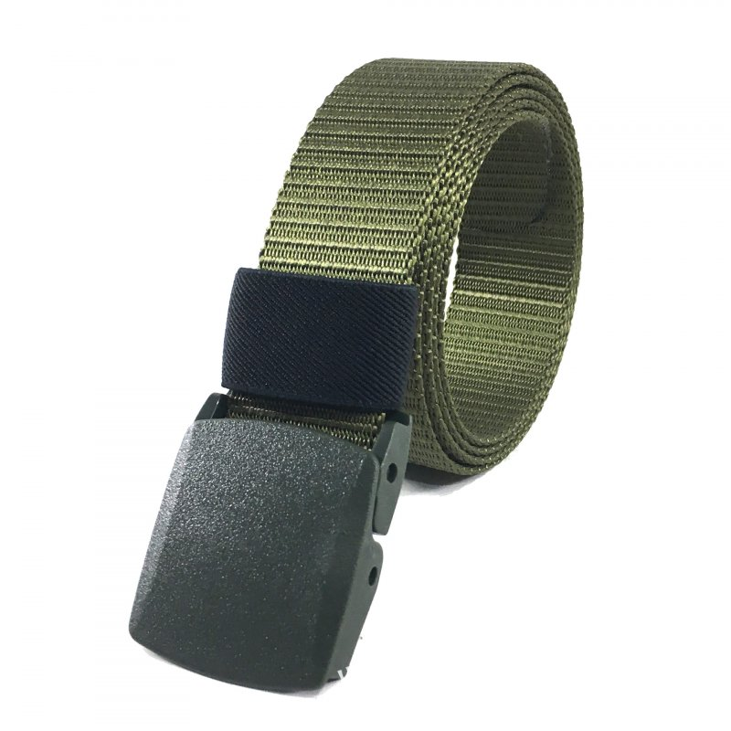 125CM Nylon Belt Male  Belt Mens Army Green