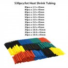 2:1 Car Cable Sleeving Assortment Wrap Wire
