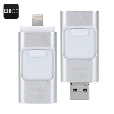 128GB USB FlashDrive (Silver)