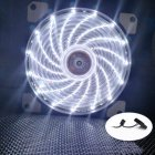 12CM 120mm Red 15 LEDs Lights Fan Cooler Case PC Computer Cooling Tool white
