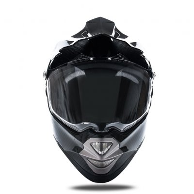 LS2 Professional Motorcycle Helmet Carbon Fiber Full Face Helmet for Men MX429 black_XL