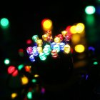 12M/22M 100LEDs/200LEDs Romantic Solar String Light for Outdoor Party Garden Lawn Color light_22 meters 200LED_(ME0003604)