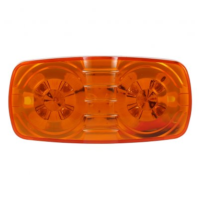12V 10 LEDs  Trailer Truck Marker Light Amber