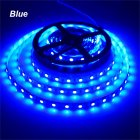 12V 300 LEDs SMD5050 5M/Roll Single Color Light Bar Waterproof DC LED Light Strips Blue light