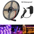 12V 5M 300LEDs UV Strip Light European Regulation 390-400nm