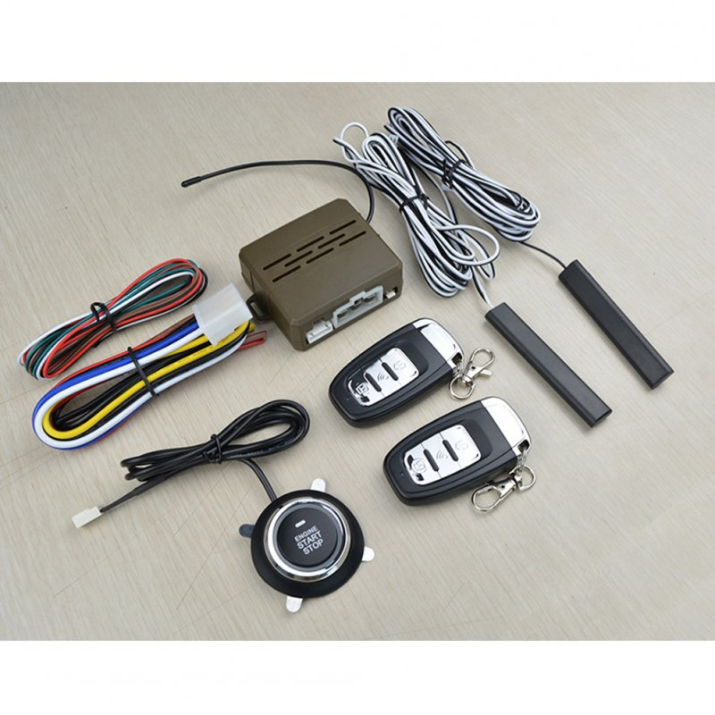 12V Universal 8Pcs Car Alarm Start Security S