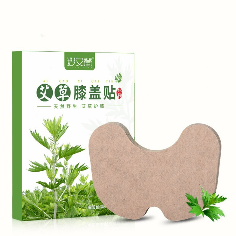 12pcs/box Wormwood Plaster Cervical Spine Knee Lumbar Self Heating Pain Relief Warm Moxibustion Sticker knee stickers
