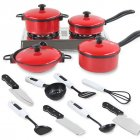 13 Sets Pots and Pans Kitchen Cookware