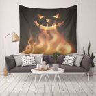 130X150CM Holloween Printed Tapestry Blanket Hanging Pendant Home Festival Decoration