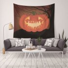 130X150CM Holloween Printed Tapestry Blanket Hanging Pendant Home Festival Decoration 130cmx150cm