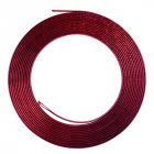 13M Moulding Trim Strip Car Door Edge Protector Cover Outlet Vent Car Decorative Strips red
