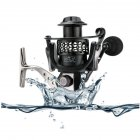 14+1BB axis Oxidized All-metal Wire Cup Spinning Wheel Reel Fishing Reel Fishing Equipment 5000 series
