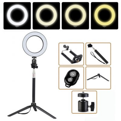 LED Ring LiDimmable LED camera