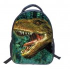 14 Inch 3D Children Cool Dinosaur Backpack Exquisite Schoolbag Travelling Shoulder Bag Gift
