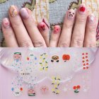14 Pcs Nail Sticker Waterproof Nail Beauty Nails Decal YW-396