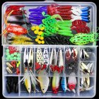141Pcs Lures Multifunctional All Swimming Layers False Baits for Sea Fishing and Fresh Water