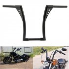 14in Motorcycle Rise Ape Hanger Handlebar For Sportster XL 883 1200 FLST  black_14 inch