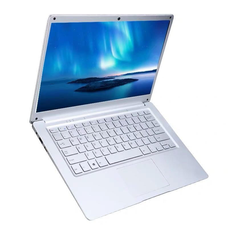 15.6 Inch Laptop Computer Silver_8+128G